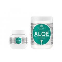 Kallos ALOE VERA hair mask - hydratačno-regeneračná maska na suché a lámavé vlasy