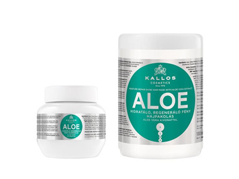 Kallos ALOE VERA hair mask - hydratačně-regenerační maska na suché a lámavé vlasy