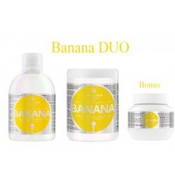 Kallos BANANA DUO - šampon + maska