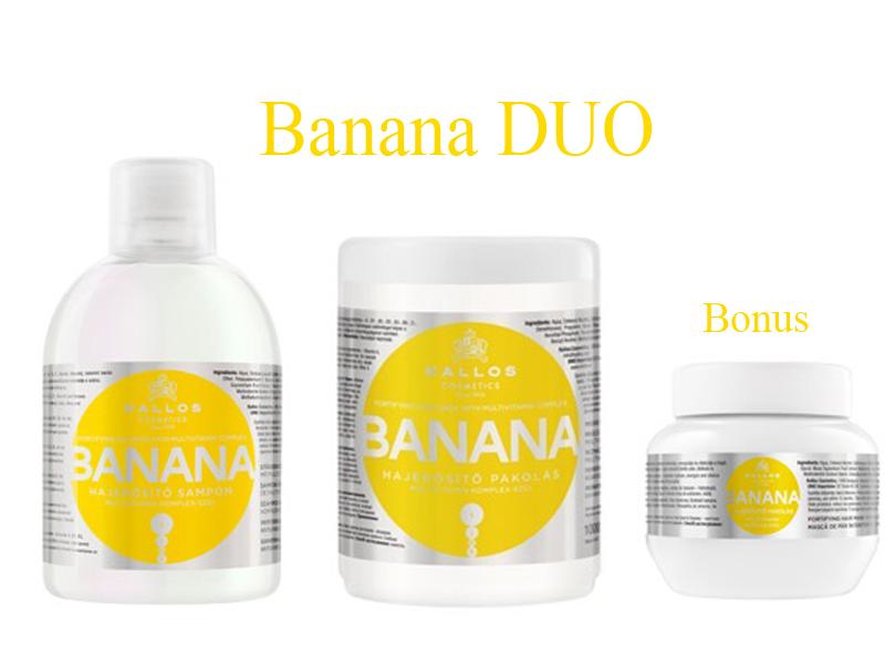 Kallos BANANA DUO - šampón + maska
