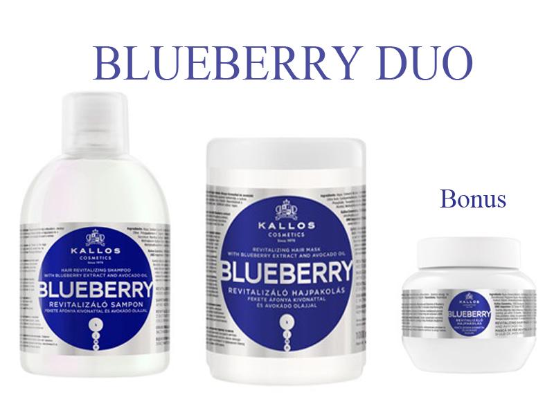 Kallos BLUEBERRY DUO - šampón + maska