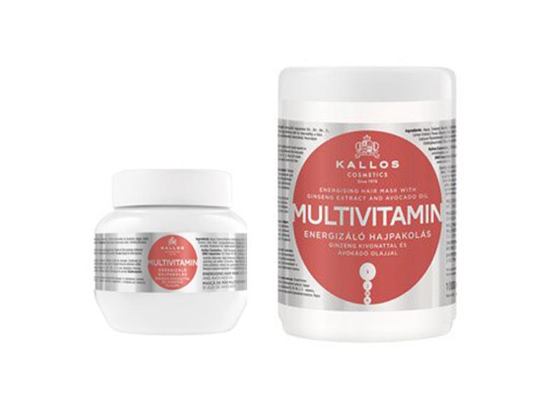 Kallos kjmn Multivitamín Mask - Energizujúca regeneračno - hydratačná maska na vyblednuté, oslabené a poškodené vlasy