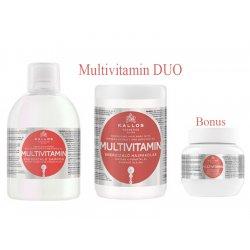 Kallos MULTIVITAMIN DUO - šampón + maska