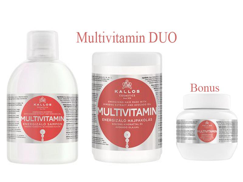 Kallos MULTIVITAMIN DUO - šampon + maska