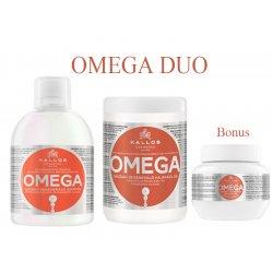 Kallos OMEGA DUO - šampon + maska