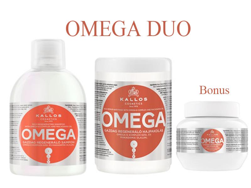 Kallos OMEGA DUO - šampón + maska