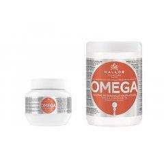 Kallos OMEGA - regeneračná oživujúca maska na lámavé a krehké vlasy