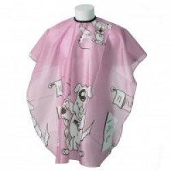 BraveHead 5578 - pláštenka detská  na strihanie, ružová, na háčik