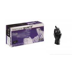 Semperguard Nitrile powder free- nitrilové rukavice, čierne, 100 ks/bal