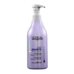 L'Oréal Liss Unlimited Shampoo Disciplinante - uhlazující šampon na neposlušné vlasy, 500 ml