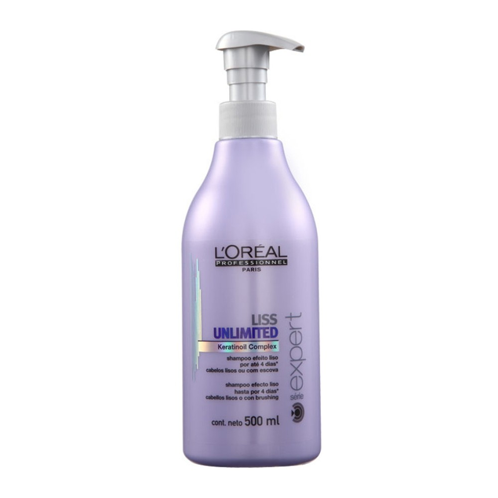 L'Oréal Liss Unlimited Shampoo Disciplinante - uhladzujúci šampón na neposlušné vlasy, 500ml