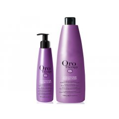 Oro Therapy Zaffiro puro conditioner - keratín. kondicionér na blond, zosvetlené a melír. vlasy