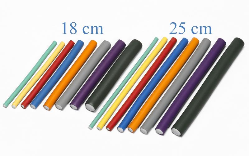 Papiloty - flexibilné penové natáčky na vlasy