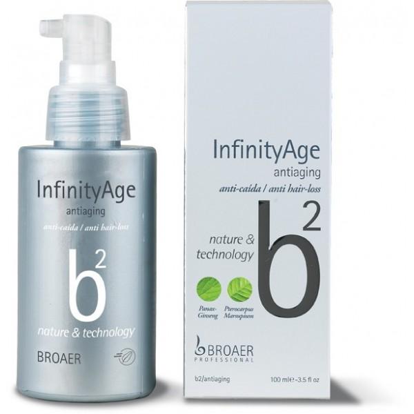 Broaer b2 infinity Age anti aging - tonikum proti vypadávání vlasů, 100 ml