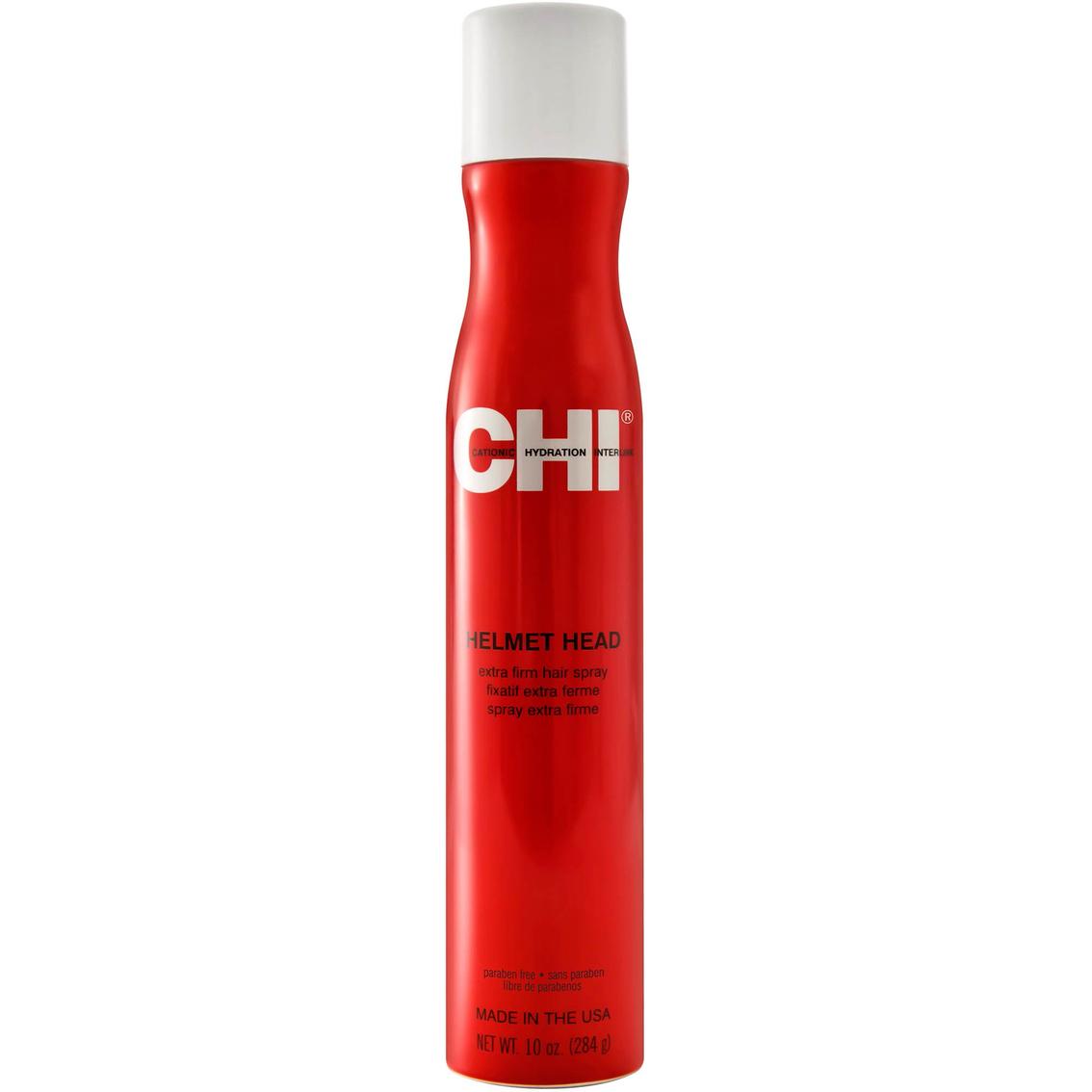 CHI Helmet Head Spray - extra silný objemový lak na vlasy, 284 g