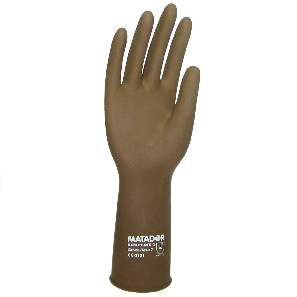 Matador Latex glove - latexové ochranné rukavice, 1 pár