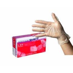 Semperguard Vinyl, powdered - vinylové rukavice púdrované, 100 ks