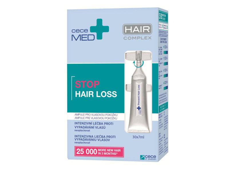 Cece Med Prevent Hair Loss Scalp Ampoules - vlasové ampulky proti vypadávaniu vlasov