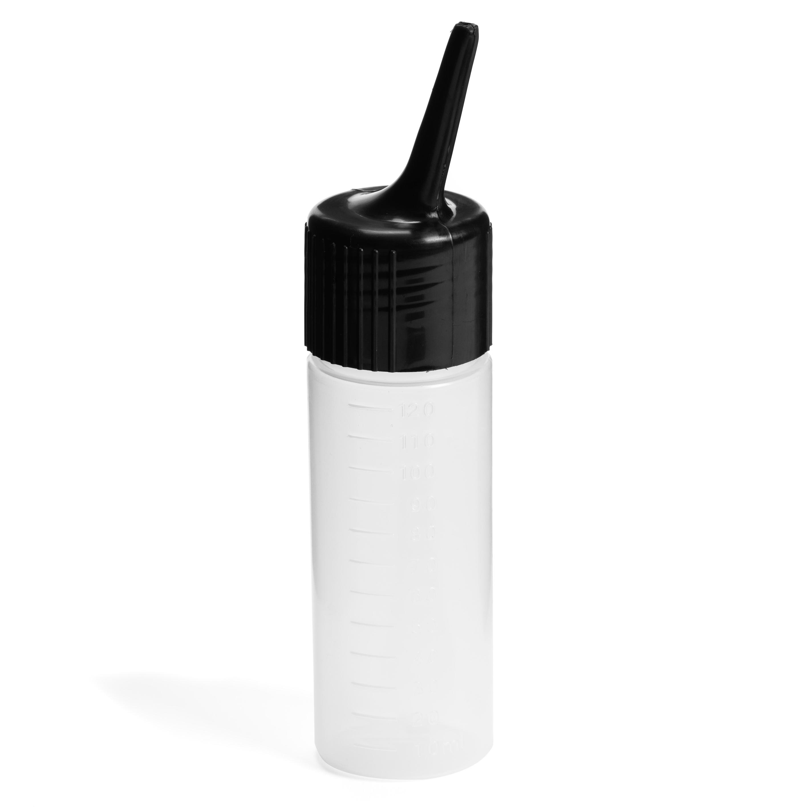 Aplikačná fľaša s odmerkou čierna 9311 , 120 ml