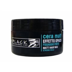 Black cera matt - matný vosk na vlasy, 100 ml
