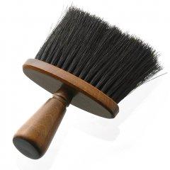 Oprašovák na vlasy dřevěný s kančími štětinami 7849