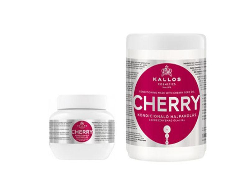 Kallos CHERRY Mask - jemná hydratačná maska na vlasy s vitamínmi