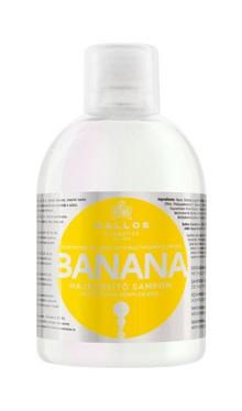 Kallos BANANA shampoo - posiľujúci šampón na vlasy, multivitamín, 1000 ml