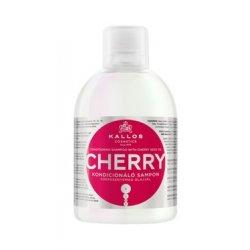 Kallos Cherry conditioner shampoo - hydratačný šampón na suché vlasy, 1000 ml