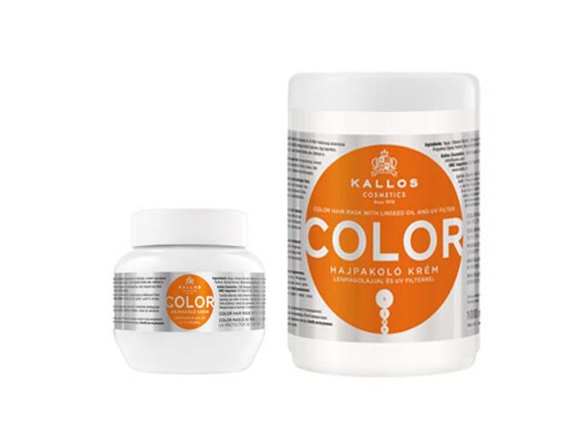 Kallos kjmn COLOR Mask - maska na farbené vlasy s UV filtrom