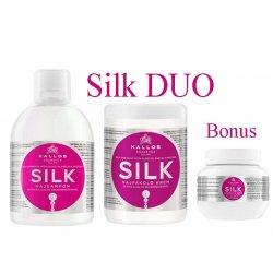 Kallos SILK DUO - SILK šampón + maska