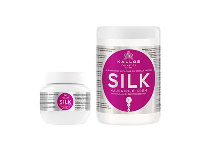 Kallos Silk hair mask - regeneračná maska na vlasy po chemickom ošetrení