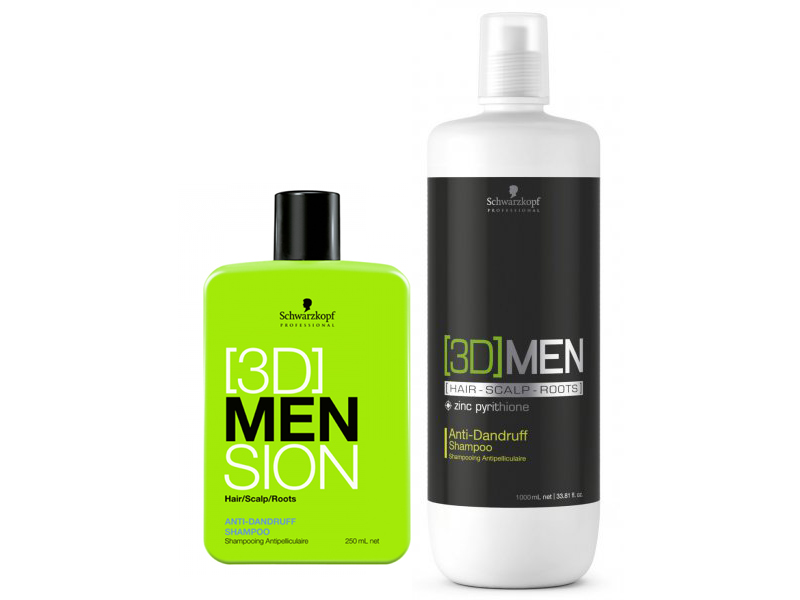 [3D] Men Anti-Dandruff Shampoo - šampón proti lupinám