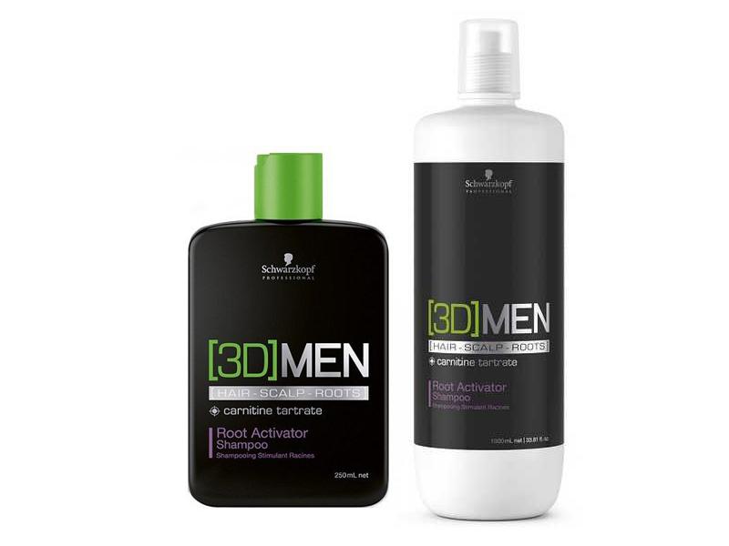 [3D] Men Root Activating Shampoo - posiľujúci šampón na rast vlasov
