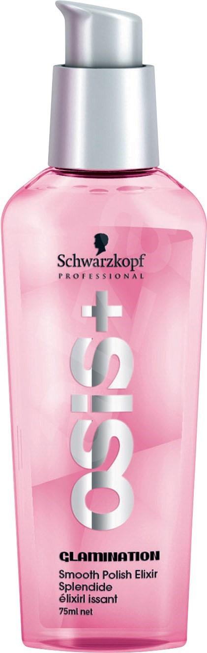SCHWARZKOPF Osis + Glamination Smooth Polish Elixir - sérum na uhladenie vlasov s leskom, 75 ml