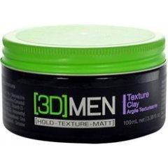 [3D] Men Texture Clay - modelovacie hlina pre silné spevnenie účesu, 100 ml