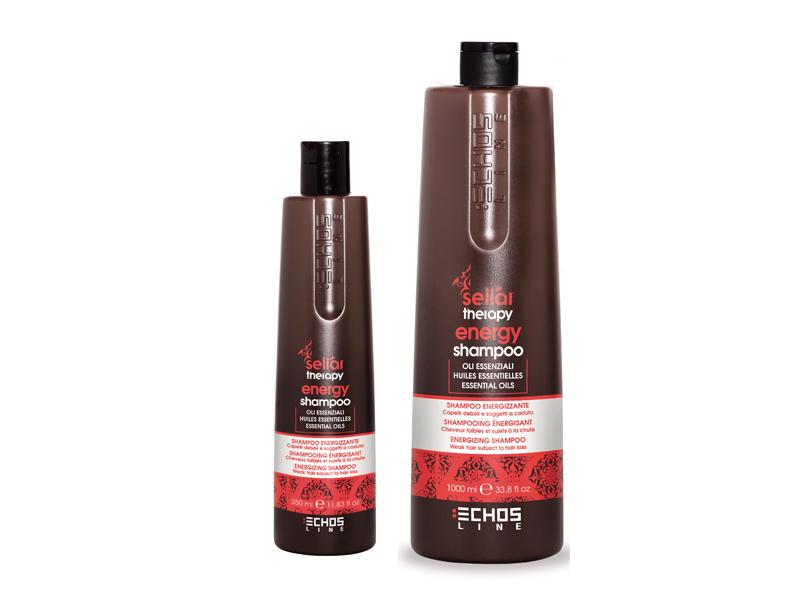 Echosline Seliár Therapy Energy - energizujúci šampón proti vypadávaniu vlasov