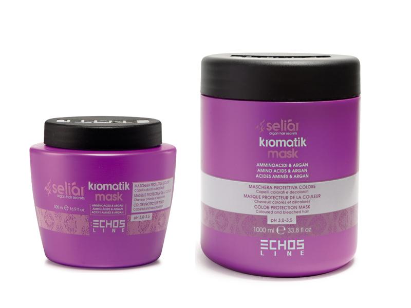 Echosline Seliár KROMATIK - ochranná maska pre farbené a odfarbované vlasy