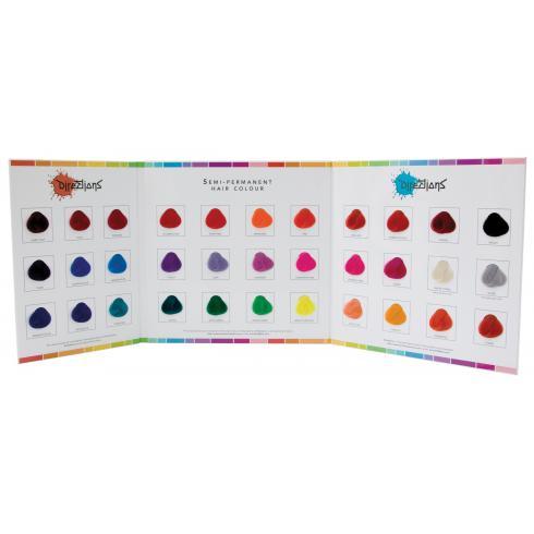La riché Directions - vzorkovník farieb