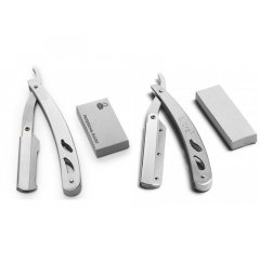 Shaving Knife Safety - kovová britva na vymeniteľné žiletky, polovičná čepeľ