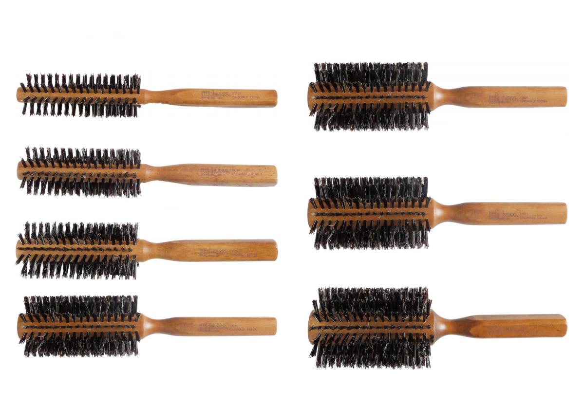 KIEPE dna evolution - profesionální dřevěné kartáče na foukání vlasů