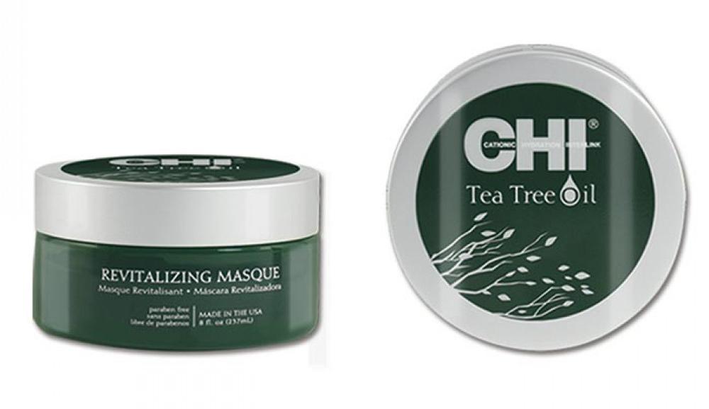 CHI Tea Tree Oil Revitalizing Masque - maska na vlasy, 237 ml