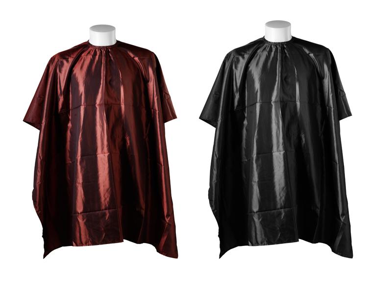 Cutting cape zig-zag - kadernícka pláštenka na strihanie, farbenie, na háčik