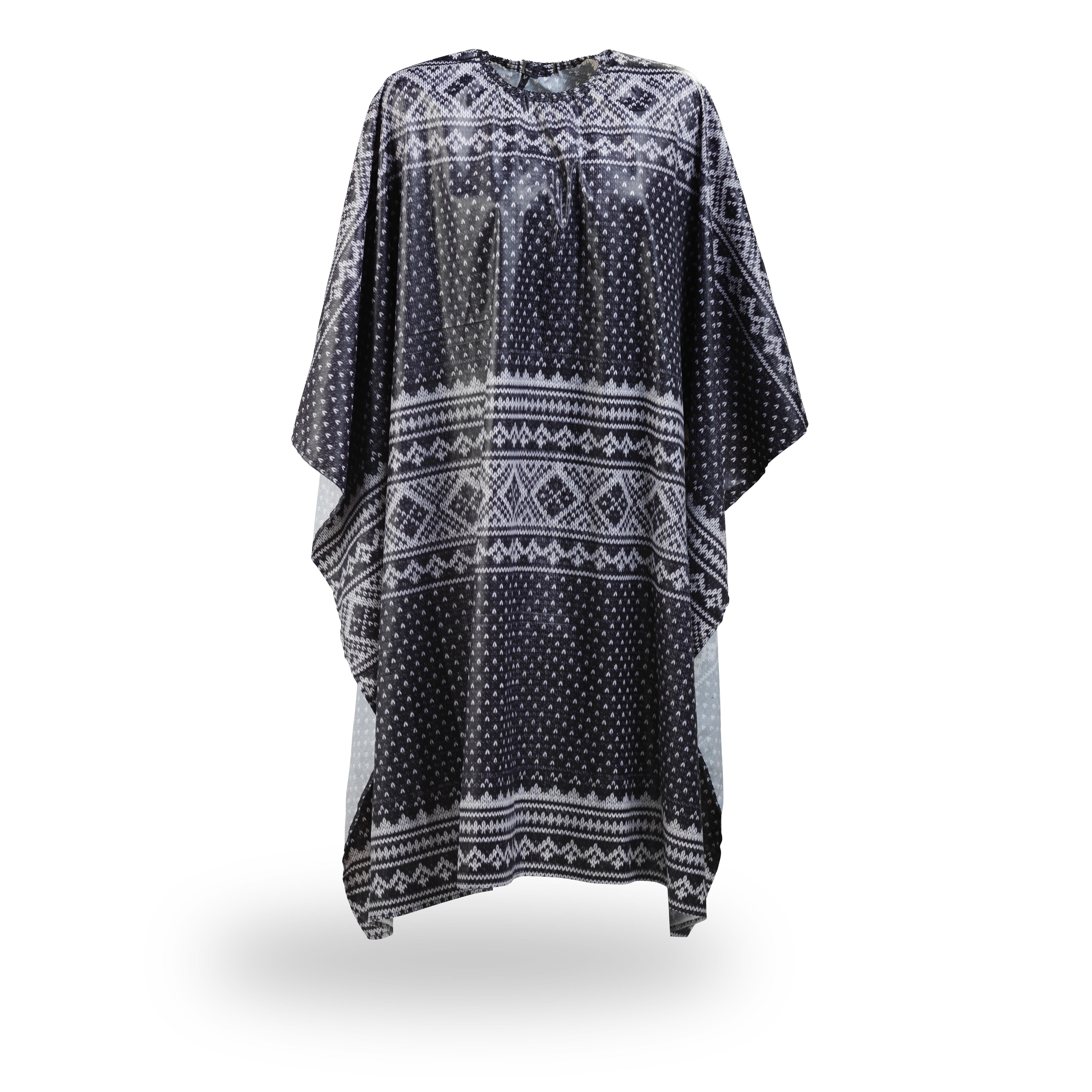 Sweater cape 5420 - kadernícka pláštenka na strihanie, farbenie, na háčik