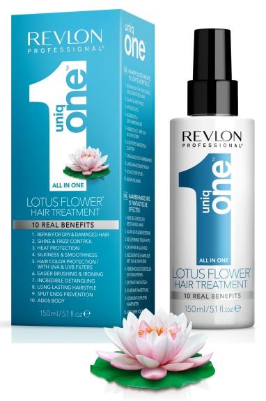 UNIQ ONE Lotosový květ - regenerační kúra pro všechny typy vlasů, 150 ml