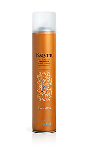 Keyra cosmetics Extra Strong hair spray - lak na vlasy s keratínom, 500 ml