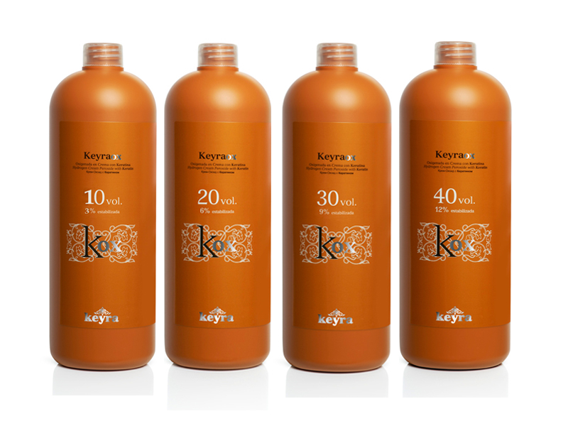 Keyra cosmetics - krémový peroxid s keratínom