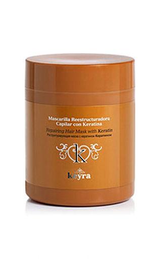 Keyra cosmetics - regeneračná maska s keratínom, 500 ml