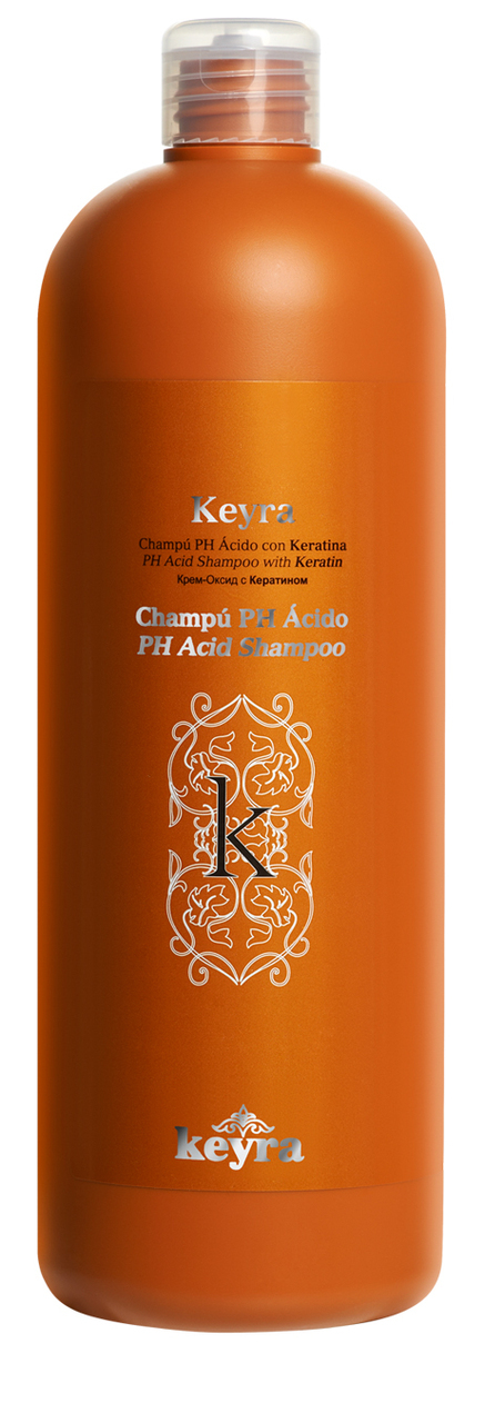 Keyra cosmetics - šampón s keratínom PH Acid, 1000 ml