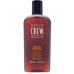 American Crew 24HR Deodorant Body Wash - antibakteriální sprchový gel, 450 ml