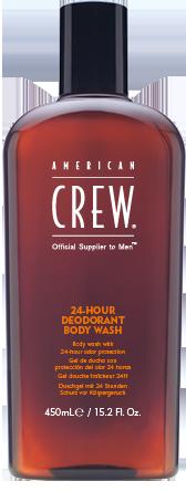 American Crew 24HR Deodorant Body Wash -  antibakteriálny sprchový gél, 450 ml